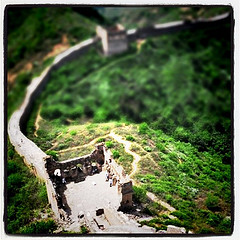 Great Wall of China taken this summer and edited with Instagram.