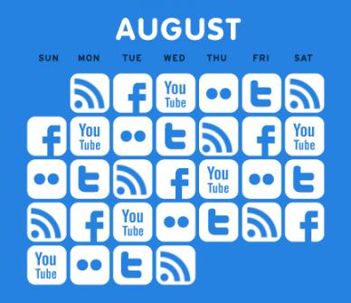 Short-term Strategy: The Daily #SocialMedia Content Calendar