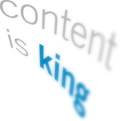 In social media, content is king,