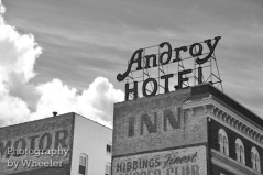The Androy Hotel in Hibbing, Minnesota.