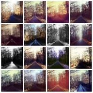 wheelers_road is an example of iPhoneography.