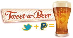Tweet-A-Beer app for buying a beer via Twitter.