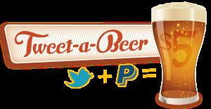 Tweet-A-Beer app for buying a beer via Twitter.