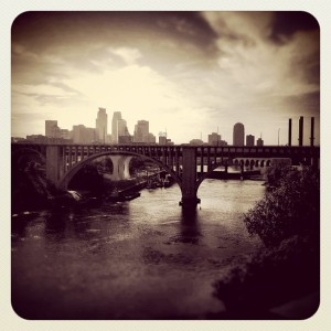 Minneapolis bridges - Instagram