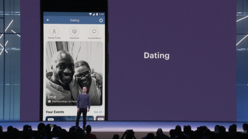 Facebook CEO Mark Zuckerberg announces Facebook dating service.
