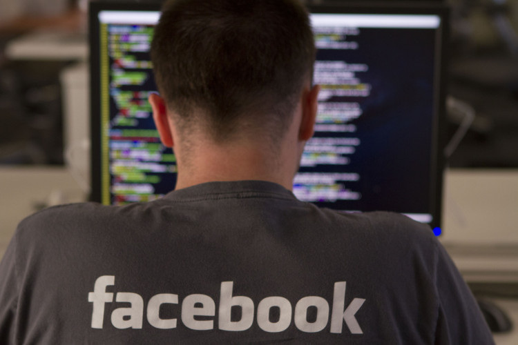 A coder at Facebook.