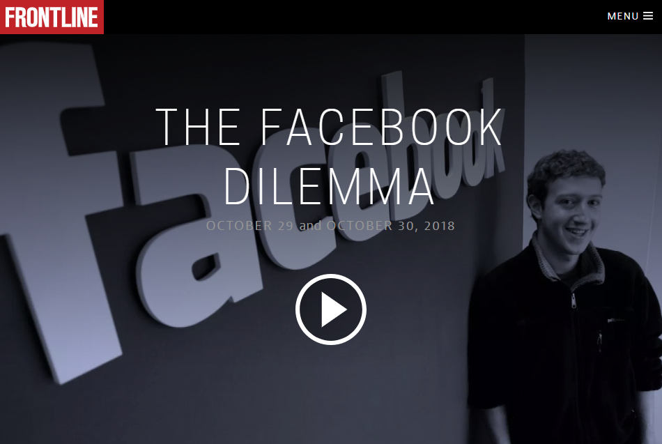 FRONTLINE: The Facebook Dilemma